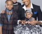 Singer Monica Posts Beautiful Photo with Kids
