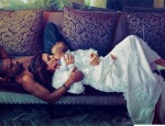 Kim, Kanye & Baby North Take Us Inside Vogue Magazine