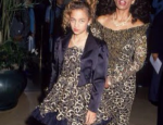 Throwback Thursday: Nicole Richie, as a Tween, and Her Mom in Matching Outfits