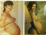 Check Out Kris Jenner & Kourtney Kardashian's Nude Pregnancy Photos