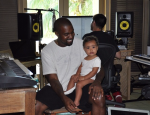 Kanye West and Baby North's Cute Photo Op