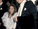 Throwback Thursday: 12-Year-Old Angelina Jolie with Her Dad at The Oscars