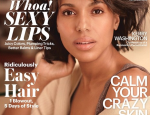 Kerry Washington Looks Fresh Faced on Cover of Allure Magazine