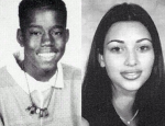 Throwback Thursday: Kim Kardashian and Kanye West in High School