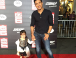 "Mario Lopez Brings 4-Year-Old Daughter to ""Big Hero 6"" Premiere"