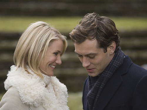 Cameron Diaz & Jude Law in The Holiday (Photo Credit: Mani Yang)