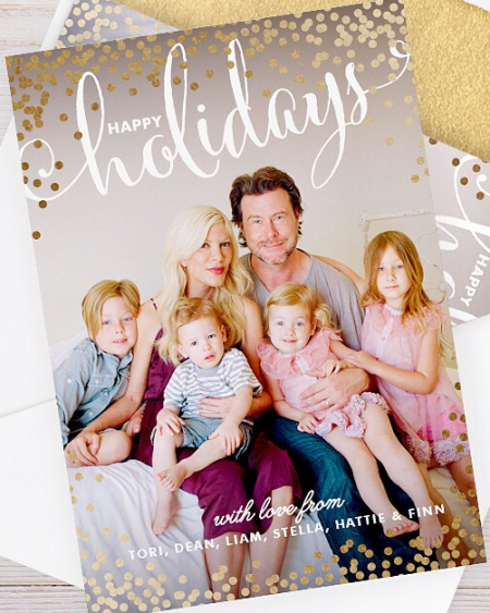 7 celebrity christmas cards to get you in the mood for holiday cheer