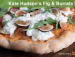 Kate Hudson's Fig and Burrata Flatbread