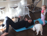 Pregnant Hilaria Baldwin Shares Video of Butt and Hamstring Exercise for Women