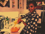 Watch Jessica Alba Make a Simple Carrot Avocado Salad