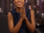 Birthday Girl Kerry Washington Talks Playdates with Jimmy Kimmel