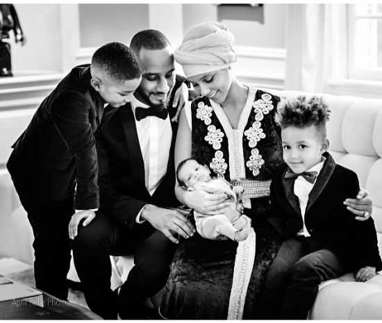 Alicia Keys Shares Beautiful Family Photo that Includes Newborn Son Genesis!