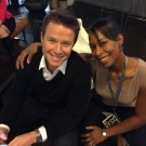 Tirralan and Billy Bush