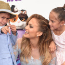 J Lo and Family