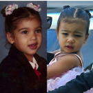 Throwback Thursday: Kim Kardashian and North West as Toddlers!