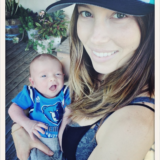 Jessica Biel and Justin Timberlake Share First Photo of Newborn Son