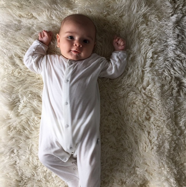 Kourtney Kardashian Posts First Pic of Newborn Son, Reign Aston Disick