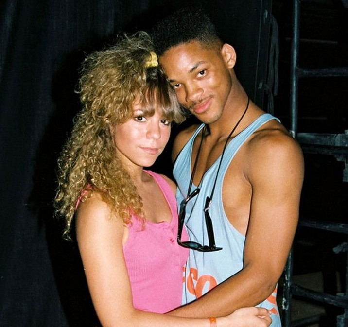 Throwback thursday mariah carey and will smith from the for Top dance songs 1988