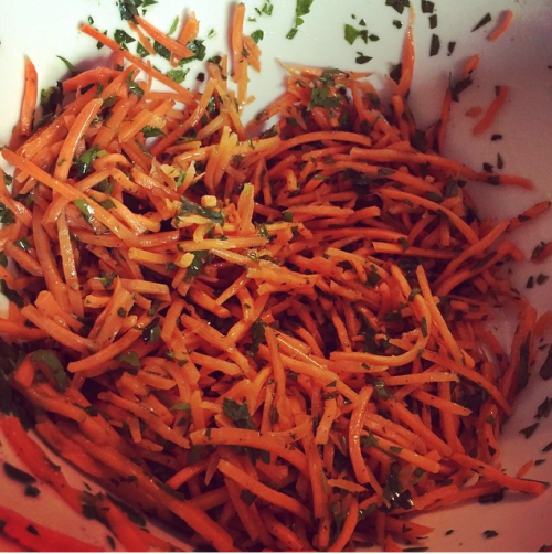 Daphne Oz's Easy Carrot Salad