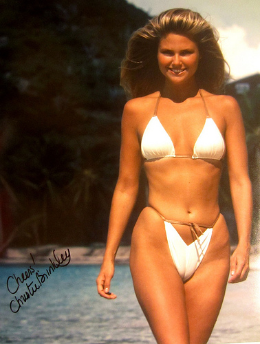 These Hollywood Moms Were Bathing-Suit Beauties in the 1980's