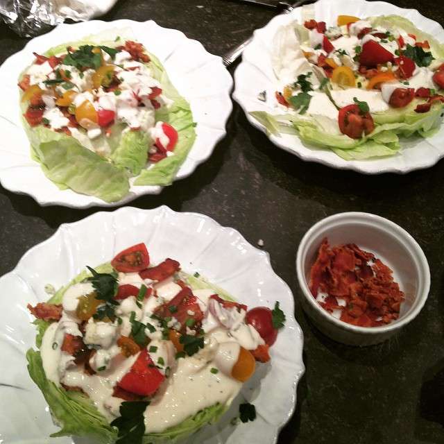 Martina McBride's Iceberg Wedge Salad Recipe