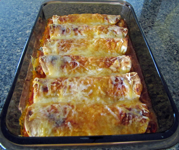 Jessica Alba's Chicken Enchiladas Recipe