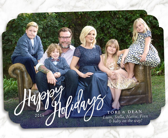 2016 Celebrity Family Holiday Cards