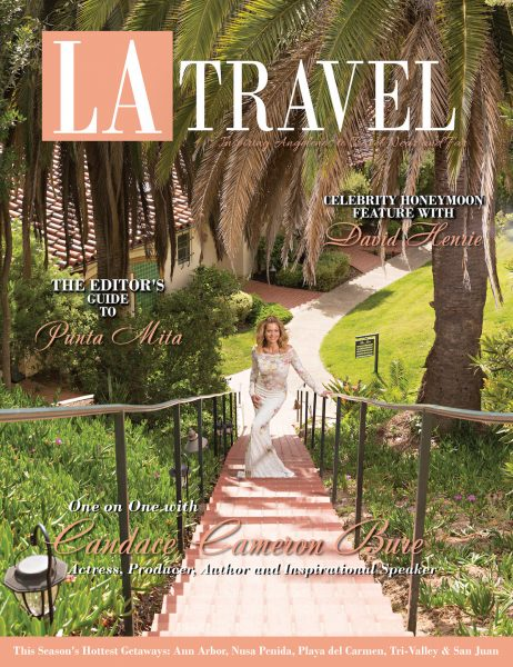Candace Cameron Bure Talks About Romantic Getaways & Fun Family Spots to LA Travel Magazine