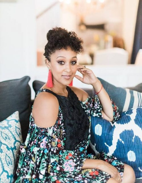Celebrity Mom Tamera Mowry Shares Motivational Blogging Tips