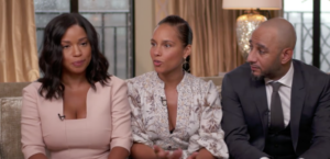 Alicia Keys Talks About Co-Parenting with Husband and His Ex-Wife (Video)
