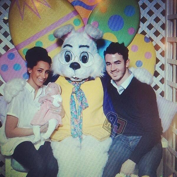 Celebrites Create Easter Memories with Families