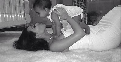 Kim Kardashian Shares Sweet Mother's Day Photo with North West