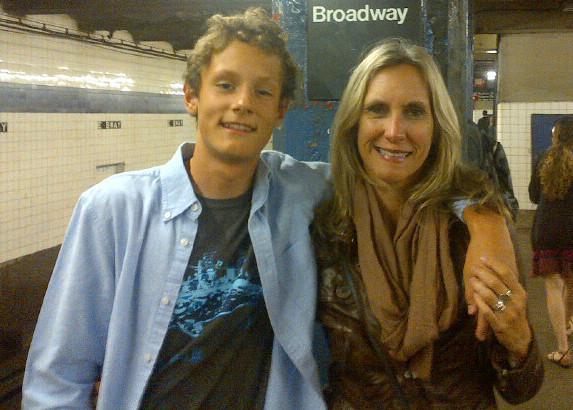 Dana and son, John