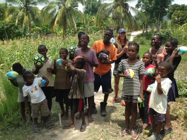 Kelly in Haiti