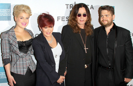 Sharon Osbourne and Family - Photo Credit: Terry Wong