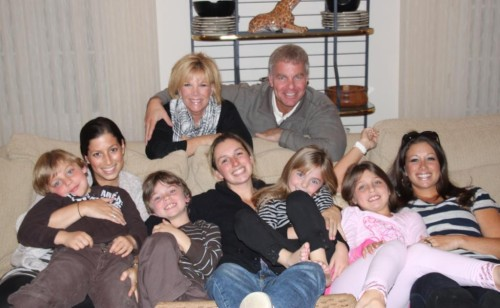 Joan Lunden and Family - Photo Credit: Joan Lunden/Twitter