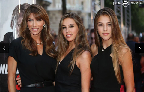 Jennifer Flavin and 2 daughters