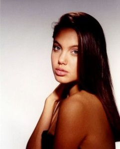 Throwback Thursday: Angelina Jolie as a Young 15-Year-Old Model
