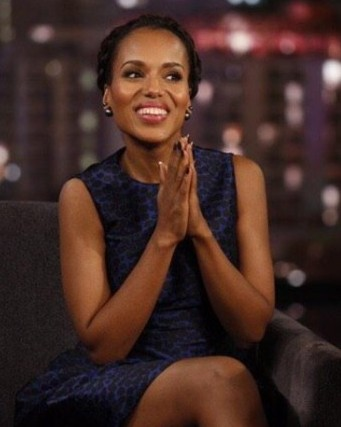 Kerry Washington Talks Playdates with Jimmy Kimmel