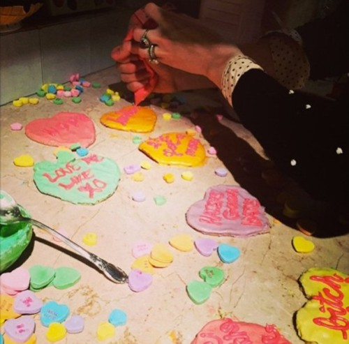 Blake Lively's Valentine Day Cookies