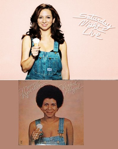 Throwback Thursday: A Young Maya Rudolph with Mom Minnie Riperton