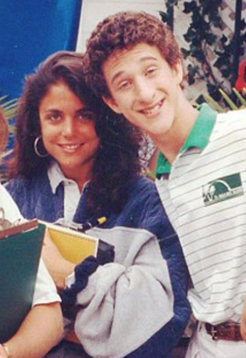 Throwback Thursday: Bethenny Frankel on the Set of 'Saved by the Bell'