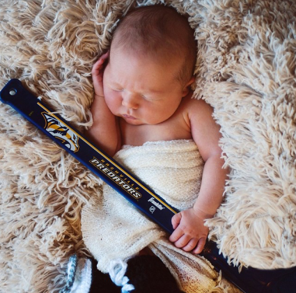 Carrie Underwood Shares Adorable Photo of Newborn Son Isaiah