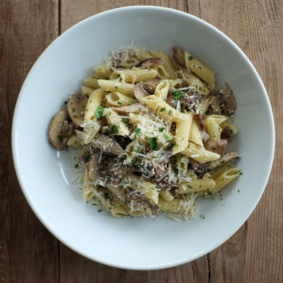 Jessica Seinfeld's Recipe for Mushroom Pasta with Parmesan and Lemon