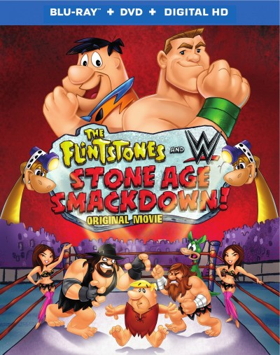 Giveaway: The Flintstones & WWE: Stone Age Smackdown!