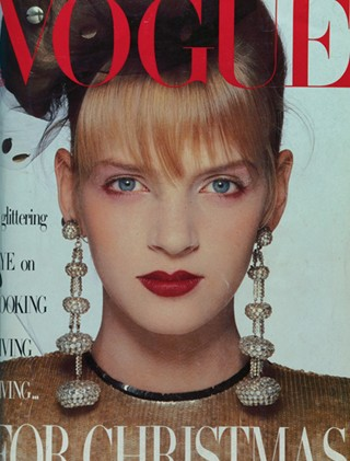 Throwback Thursday: Uma Thurman as a 16-Year-Old Fashion Model