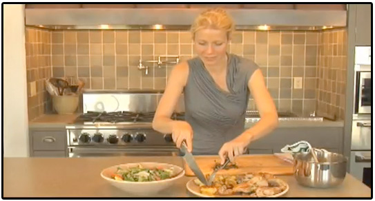 Gwyneth Paltrow's Roasted Chicken and Potatoes: Watch the Video!