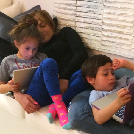 Do Your Kids Spend Too Much Time on Technology? See How Celebs Keep the Family Balanced