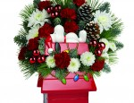 Win a Peanuts Cookie Jar or Christmas Mug by Teleflora!