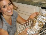 Brooke Burke Shares How to Make Poached Salmon in a Dishwater!